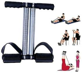 Double Spring Tension Foot Pedal Abdomen Leg Exerciser Tummy Trimmer Equipment