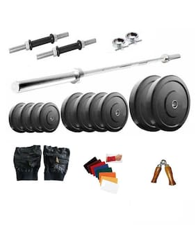 Dreamfit 30 kg Home Gym With 3 Rod And Gym Accessories
