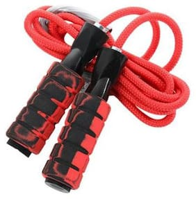 DreamPalace India Double Ball Bearing Jump Rope Weighted Cotton Rope