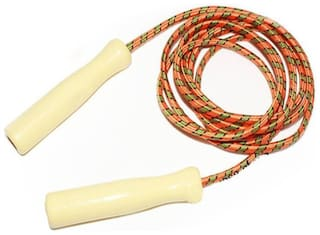 DreamPalace India Wooden Grip Skipping Rope