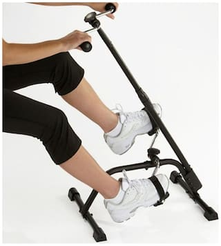 Dual Exercise Cycle / Bike Trainer For Hands And Legs