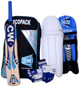 Economy Ecopak Match Smasher Sports Four (4) Vital Item 13+Year (Full Size Senior) Complete Kit Batting Set Ideal For 13+ & Above