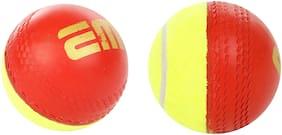 EM SKILL COACHING BALLS - SWINGER HALF TENNIS /HALF RUBBER (PACK OF 3)
