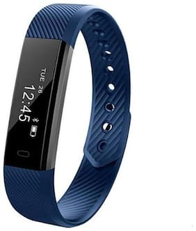 ENHANCE Limited edition ultimate ID 115 Blue Premium Fitness band (Blue)