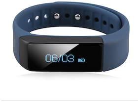 Enhance Smart i5 limited edition Premium Fitness Band  (Blue)