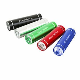 Everbrite E000011AE 3AAA 0.5W Aluminum FlashLight (5 Pack)