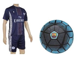 d585e20d92b Buy FCB Blue Football (Size-5) with Suit (Jersey + Shorts) Online at ...