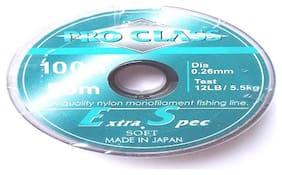 Fishing line  PRO CLASS  dia :0.26 mm test :5.0 kg :150 m