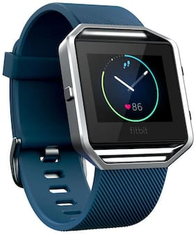 Fitbit Blaze Smart Fitness Watch large - Blue