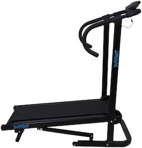 Fitkit FK95 Easy Foldable Manual ( Free Installation) Treadmill (Black)