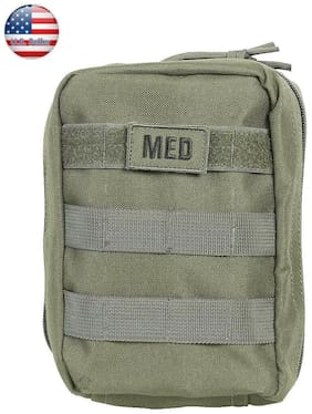 Five Star Gear Tactical Emergency 55 piece First Aid and Trauma Kit. Olive #5262