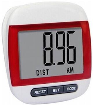 FLIPFIT 100 % ORIGINAL CLIP ACCURATE STEP COUNT Pedometer (Red)