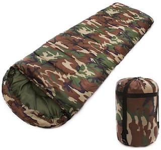 FOBHIYA  Sleeping Bag,Portable and Lightweight for 2-3 Season Camping, Hiking, Traveling, Backpacking and Outdoor Activities (Camouflage)