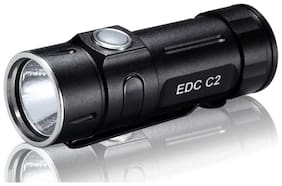 FOLOMOV EDC-C2 High CRI 400 Lumens Flashlight with USB Rechargeable Battery and
