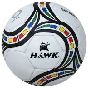 FOOTBALL RUBBER SIZE 5, EXTRA DURABLE, HAWK SUPREME