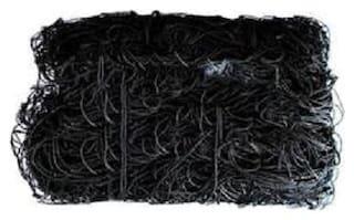 FOOTBALL NYLON NET ( pack of 1pair ) black