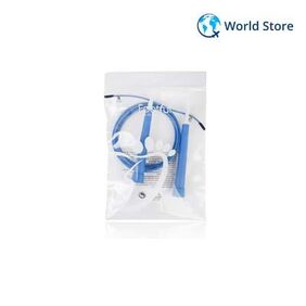 Footful Speed Cable Jump Rope for Fittness Training 10feet Adjustable Blue