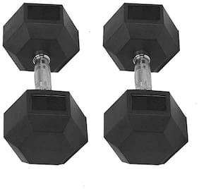 FratiiSingh Cast Iron Dumbbell ( Set of 2 , 5000 g )