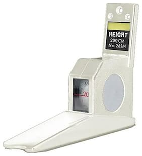 Gadget Hero's Height Measuring Scale Tape Measure Stature Meter 200cms Ideal For Home, Office, School Or Doctors Clinic