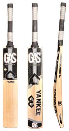 Gas Yankee English Willow Cricket Bat-Pink And Black
