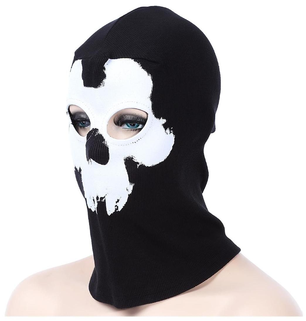 40c7c955793c7 Buy Ghost Skull Full Face Mask Outdoor Cycling Skiing Training Hood Beanie    International Bazaar Online at Low Prices in India - Paytmmall.com