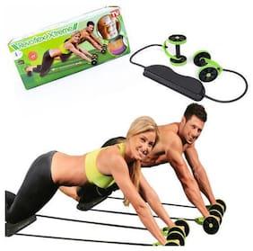Gjshop Weight Loss Revoflex Xtreme Body Roller Shaper Ab Exerciser (Green;Black)