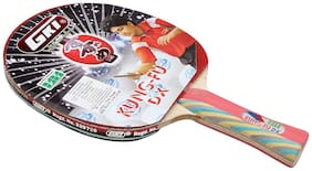 GKI Kung Fu DX Table Tennis Racquet In New Computerised Printed Cover (With Cover)
