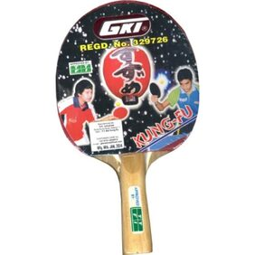 GKI Kung Fu Table Tennis Racquet (With Cover)