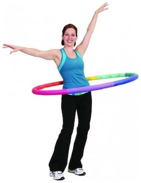 GLS Junior-Senior Adjustable 8 pcs 80 Cms Hula Hoop