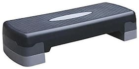 GLS Premium Aerobic Stepper With Detachable Double Steps - For Fitness Exercises & Workouts