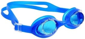 GLS Unisex UV Proof Swimming Goggles With Hard Plastic Cover
