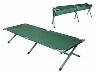 Green Portable Folding Cot Camping Hiking Cammping Bed Sleeping Military Cot New