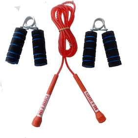 Griffin Fitness Combos OF Skipping Rope and Gripper