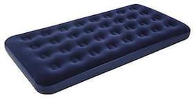 GTC Bestway Flocked Double Air Bed Navy Blue (67001)