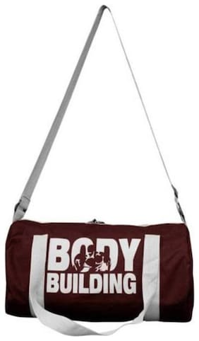 Gym And Sports Duffle Bag (Maroon, Kit Bag)