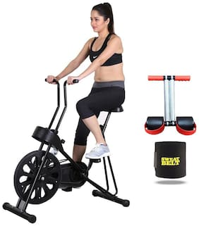 GYM EXERCISE CYCLE 201  || BONUS SWEAT BELT AND TUMMY TRIMMER
