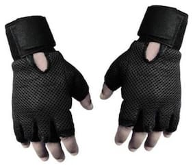 RNY GYM HAND GLOVES (BLACK)- 1 Pair