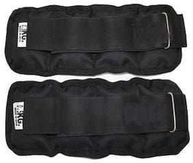 GymWar 1 Pair of Wrist/Ankle Weights Home Gym Weight Bands 1kg (Each PC 0.5 kg x 2 pcs)