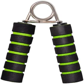 Gymwar Fitness Accessories Equpment Proactive Sports & Fitness Foam Handle Hand Grip for Best Result Hand Grip/Fitness Grip (Green) 1pc