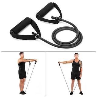 GymWar Toning Tube Resistance Tube Fitness Exercise Band-Medium