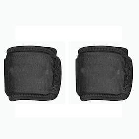 Gymwar Wrist Support Hand Grip For Gym (Black) Set of 2