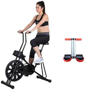 HEALTHEX 201 EXERCISE CYCLE || BONUS TUMMY TRIMMER FOR HOME USE