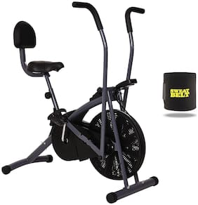 HEALTHEX EXERCISE BIKE HX200 STAMINA WITH BACK SEAT || MOVING HANDLE || BONUS SWEAT BELT FOR HOME USE