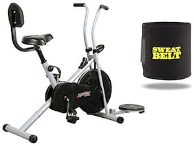 HEALTHEX GYM FITNESS CYCLE 1001 WITH BACK SEAT AND TWISTER || BONUS SWEAT BELT FOR HOME USE