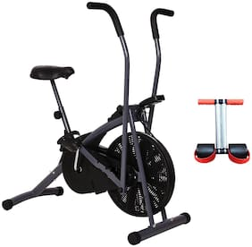 HEALTHEX GYM BIKE HX200 STAMINA || MOVING HANDLE || BONUS TUMMY TRIMMER FOR HOME USE