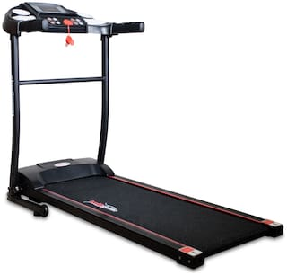 Healthgenie 3911M 1.0HP (2.5 HP at Peak) Light Weight Foldable Motorized Treadmill for Home Use & Fitness Enthusiast, Max Speed 10 Kmph