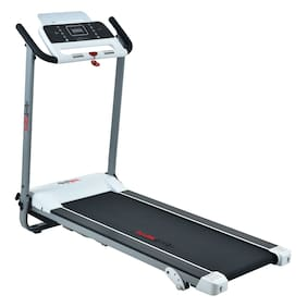 Healthgenie Pre Install Motorized Treadmill 4212PM 2HP (4 HP at Peak) Light Weight & Foldable for Home Use & Fitness Enthusiast, Max Speed 14 Kmph.
