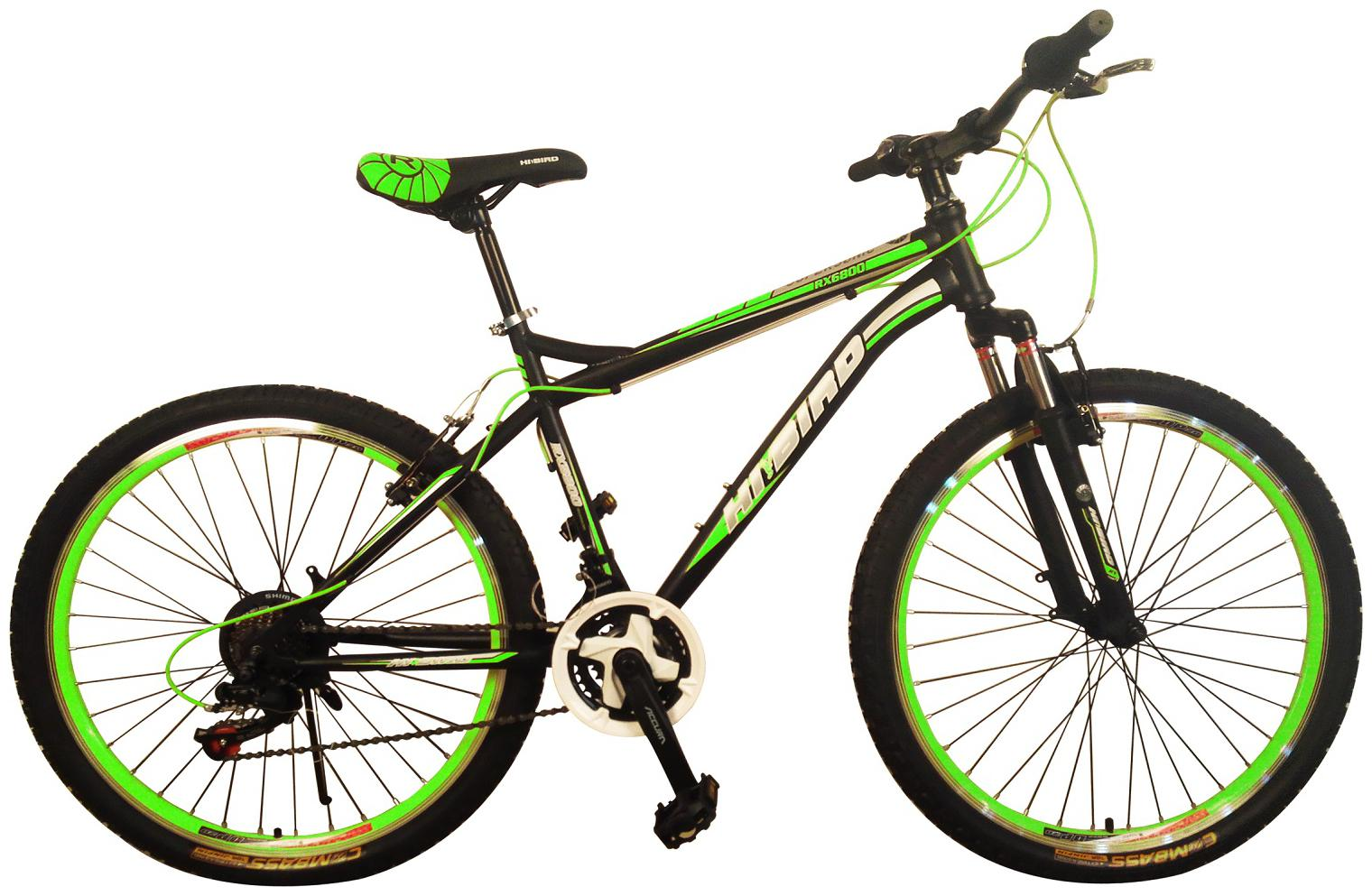 Hi Bird Supersonic 21 Speed 26 inch Green ;Black Color Cycle by Hi Bird Global Industries