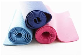 High Density Thick Body Ripper Yoga Mat - Anti Slip Durable Washable Exercise Mat 6mm 24X68 inch