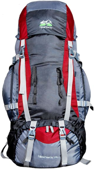 Hiker's Way Red Backpack & Hiking bag